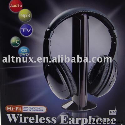 Wireless Headphone/Earphone/Headset MP3 PC TV CD DV