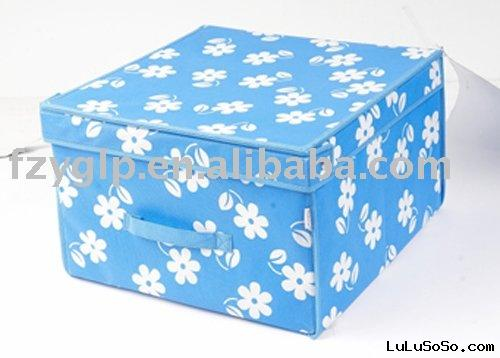 decorative non woven storage box