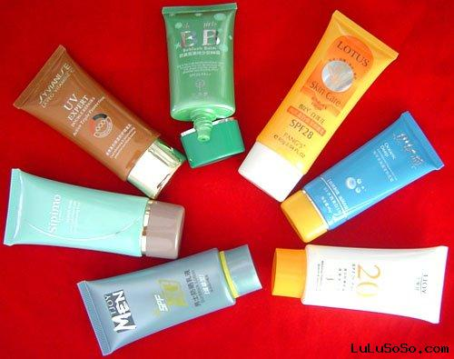 oval cosmetic packaging tubes