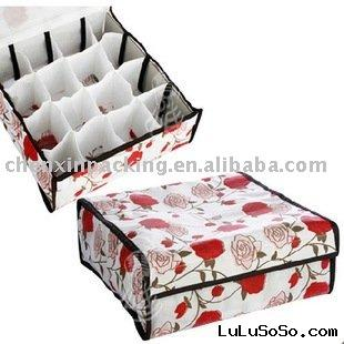 sock storage case /organizer box/non woven box