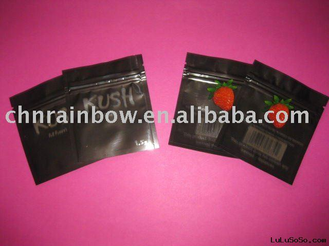 spice plastic bag