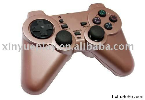 wireless double vibration gamepad for P2