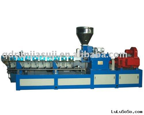 wood plastic recycling  extruder