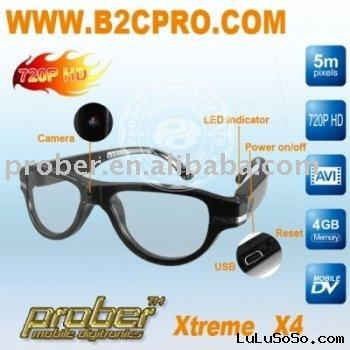 720P glasses camera HD