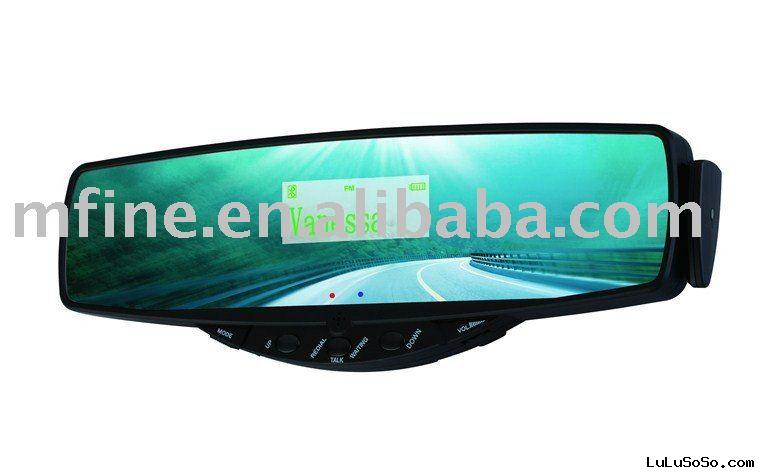 Bluetooth Rearview Mirror Speakerphone