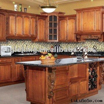 Classic series RTA Solid Wood Cabinet with granite countertop