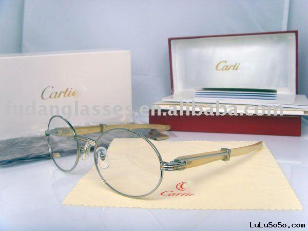 Eyeglass optical frame CT 7550178 goat horn in silver optical frame eyewear frame