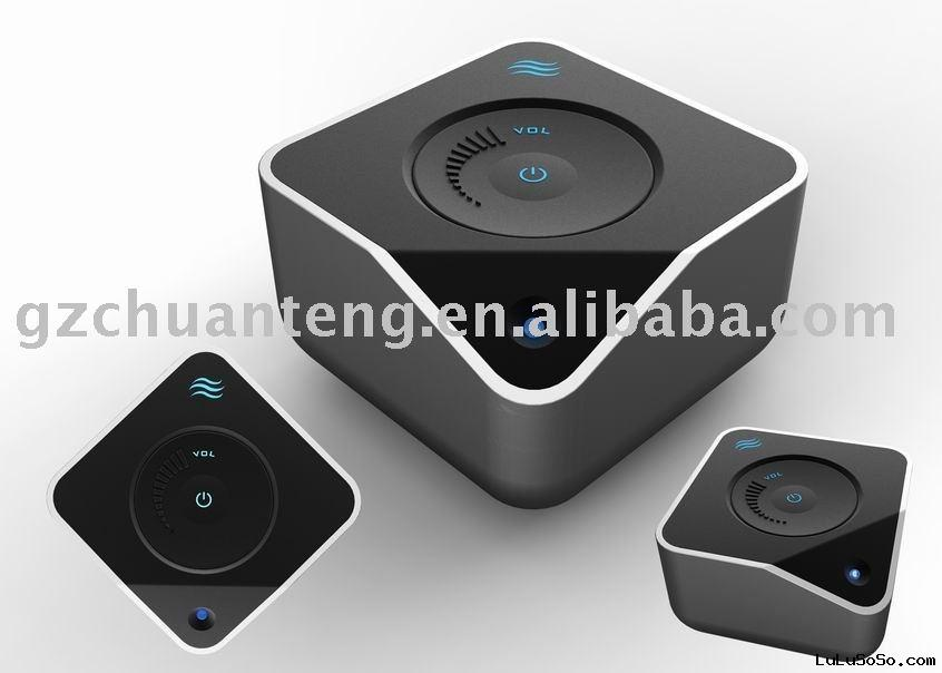 HI.T  vibration speaker / resonance sound box with USB cable & 3.5mm input