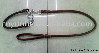 Leather Dog Collars & Leashes