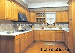 RTA Oak Kitchen Cabinets with Granite Counter Tops