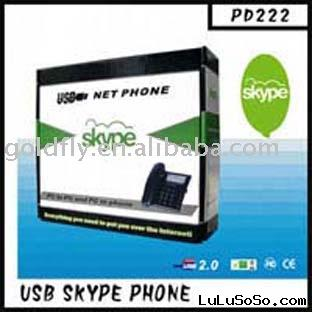 USB Skype Phone PD222 (usb phone/wireless skype phone) (GF-PD222)
