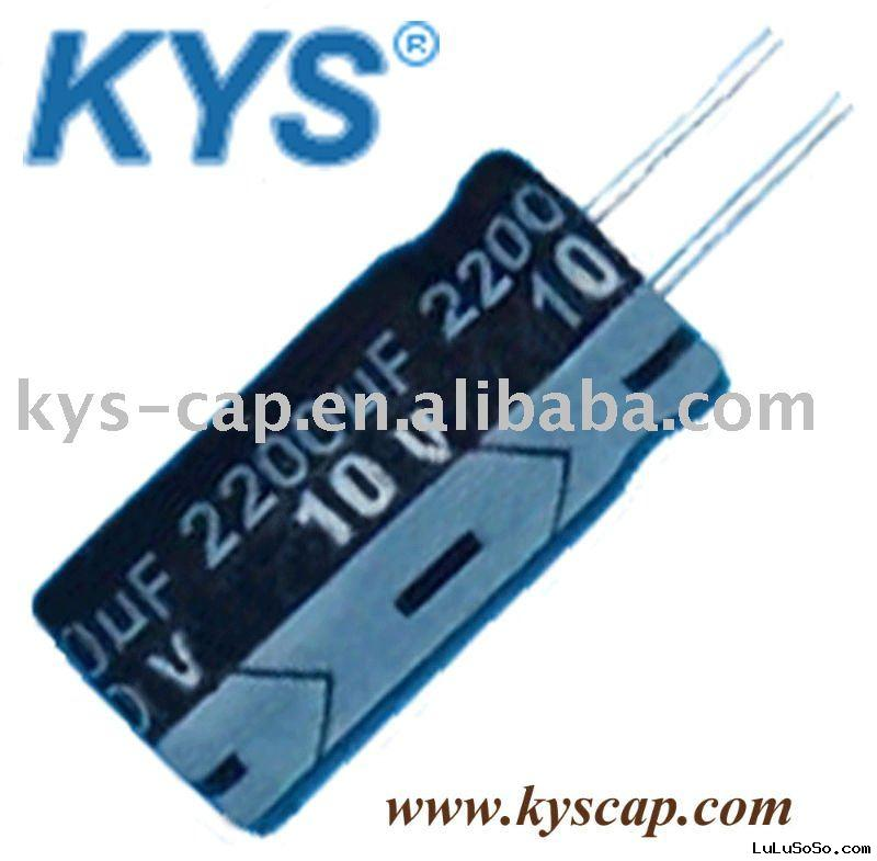 electrical capacitor 10V2200UF