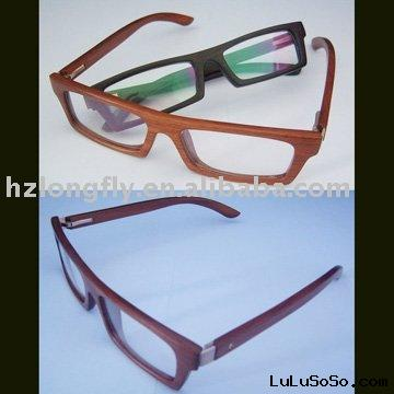 fashion wood sunglasses