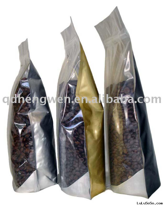 stand up coffee bean packaging bag