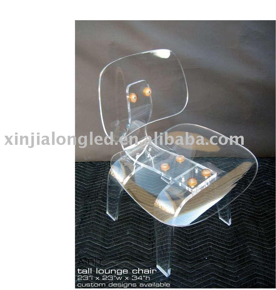 Clear acrylic  large chair