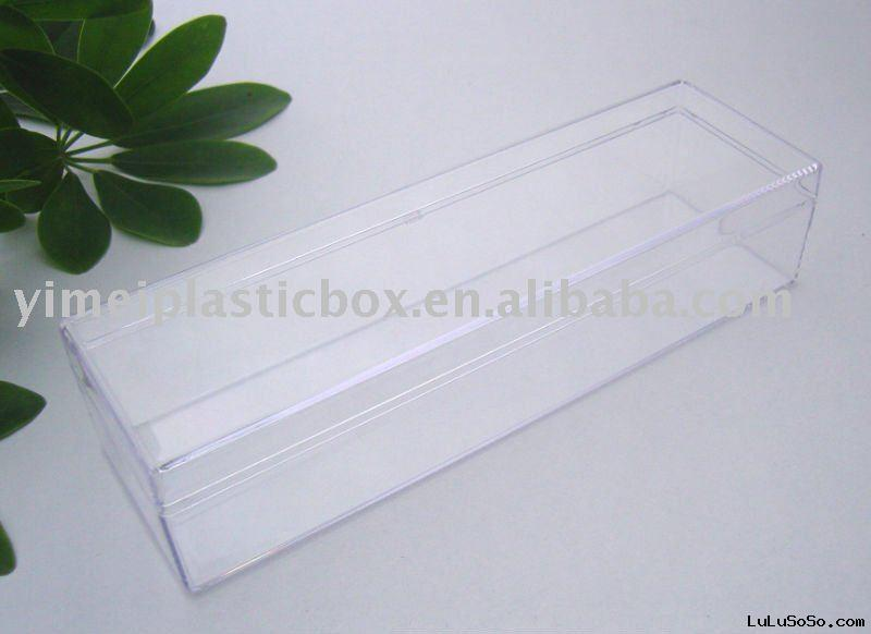 Clear plastic container