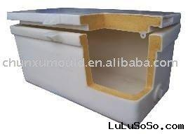 Insulated plastic box ,insulated plastic container,fishing box