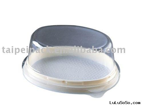 Mini Cake Box / Plastic Bakery Container (KB003)