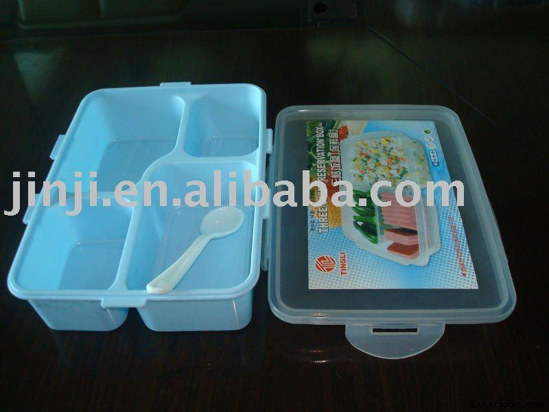Plastic large lunch box