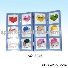 Plastic picture photo box