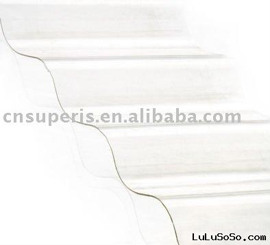 Plastic sheet Plastic roofing Polycarbonate Corrugated Sheet