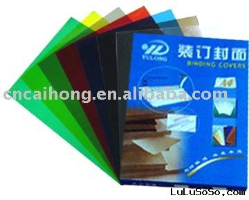 Translucent PVC BINDING COVER sheets
