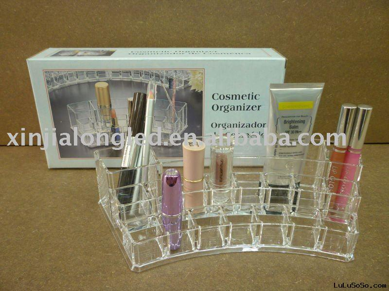 clear acrylic cosmetic display