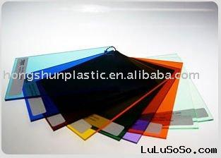 colored colored acrylic plastic sheet
