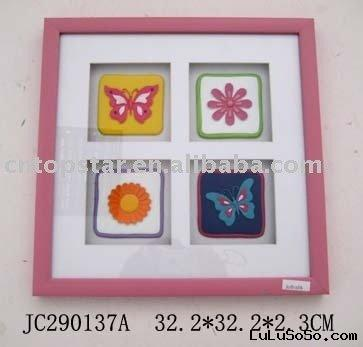 plastic decorative frame/shadow box/wall decoration