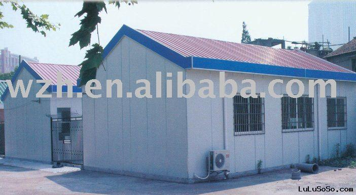 prefabricated house for accommodation