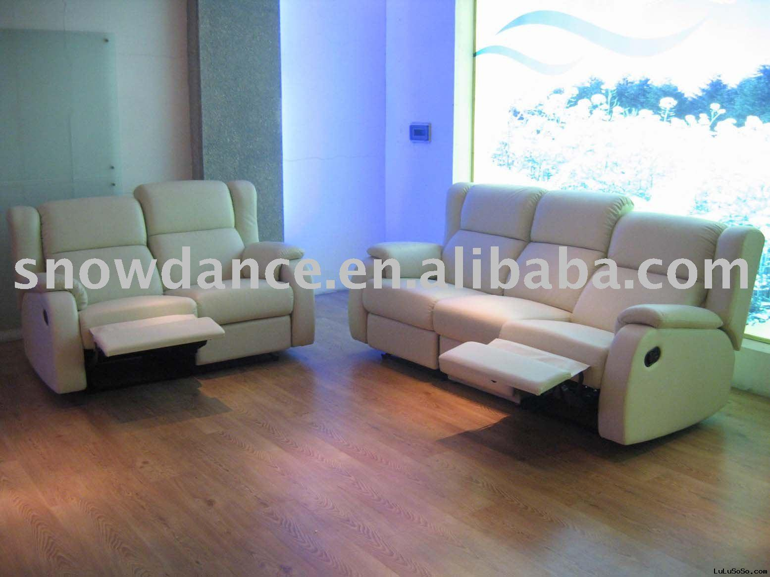 2010 GuangDong Recliner Leather sofa SD5121