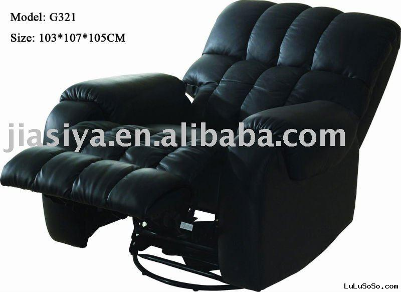 2011 leather recliner chair G321