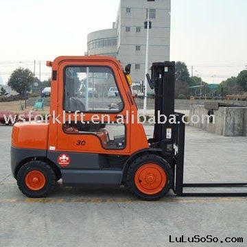3Ton Forklift Truck with cab