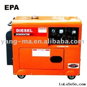 5KW yanmar portable engine power silent diesel generator
