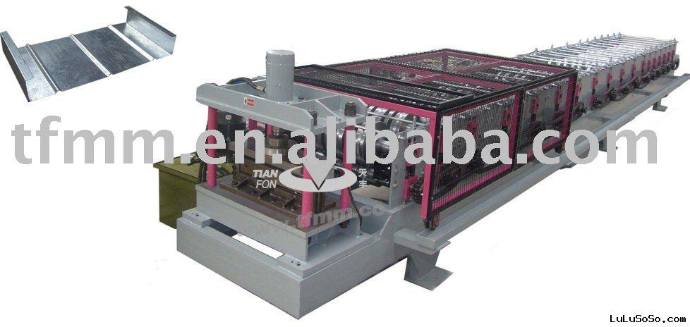 Aluminium roofing tile machine