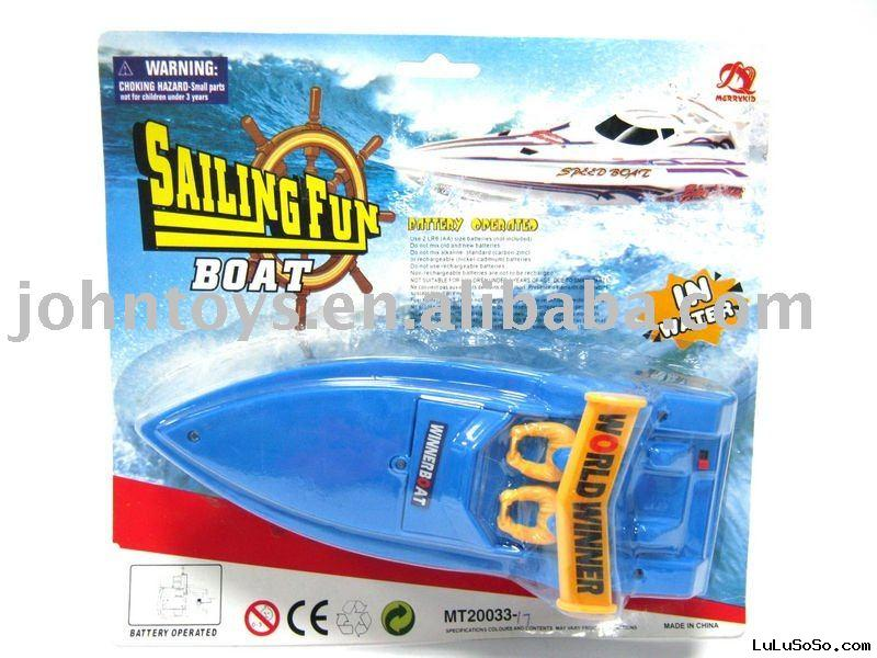 BATTERY OPERATED BOAT