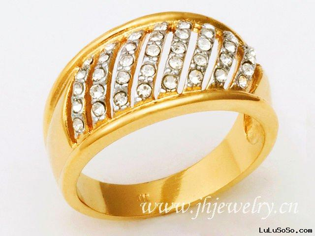 Black Cool Design Cheap Gold Ring 30030365