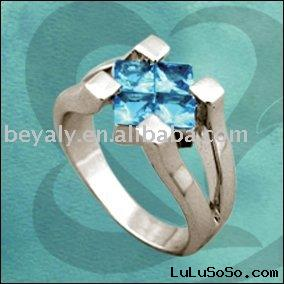 CZ silver ring (Toll Free: +1-888-5513593)
