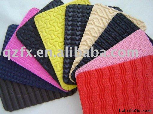 Color EVA foam sheets/ EVA pattern soles sheets