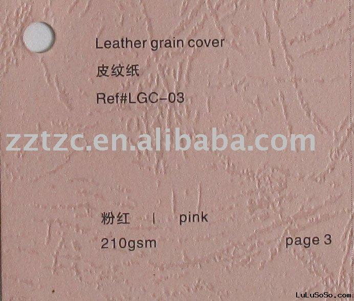 Color binding cover paper