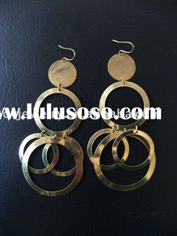 Fashion Gold Earrings Hoops