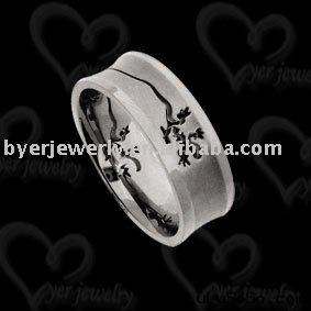 Fashion titanium ring jewelry