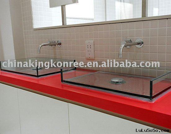 Hot Wholesale Corian acrylic sheets and bathroom Countertops