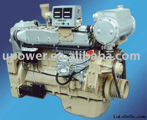 Marine Diesel Engine Set with Gearbox