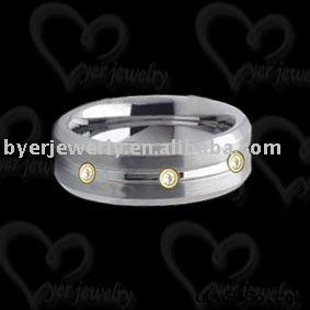 Wedding ring tungsten jewelry