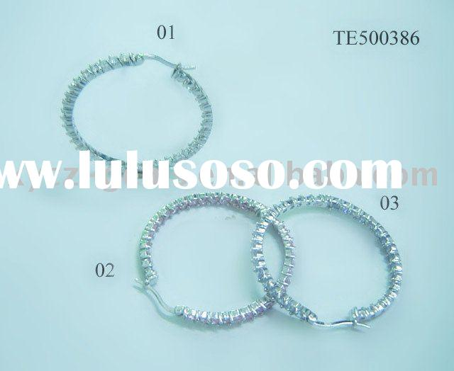 Wholesale Jewelry Hoops Fashion Earrings