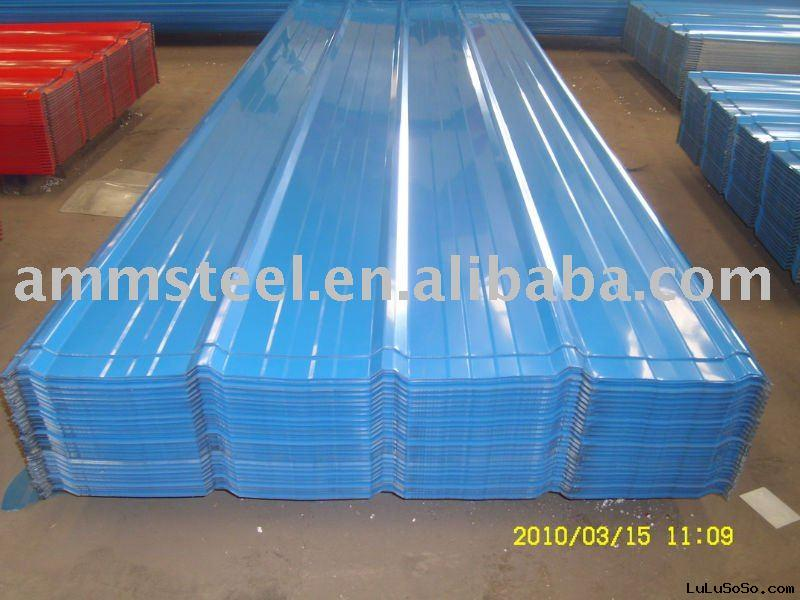 color galvanized steel roofing