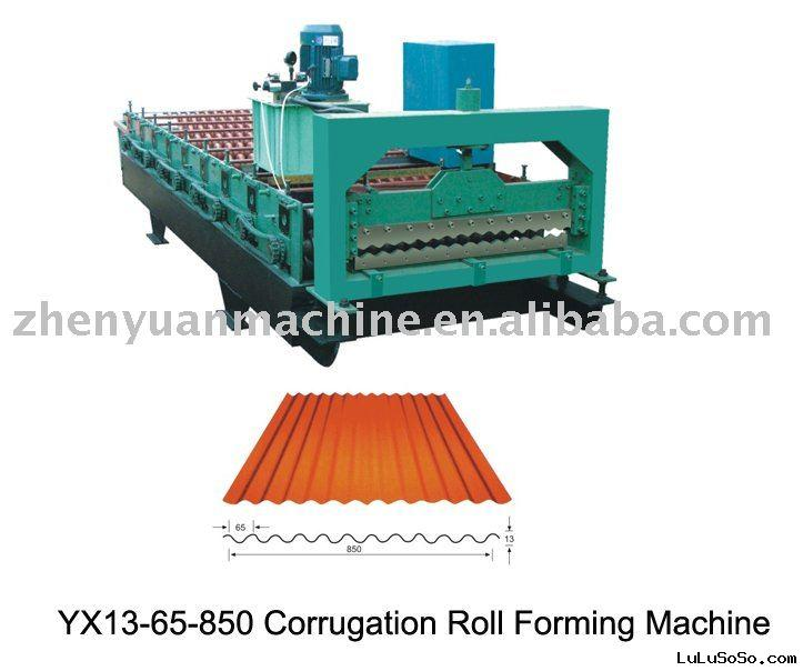 corrugated roll forming machine for Aluminium/steel/metal Roofing Sheets