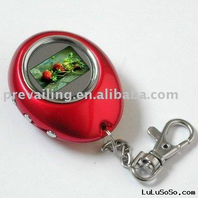 digital photo keyring
