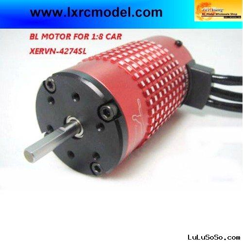 leopard 4274 2000KV 4 Class Brushless Motor with Fan for 1/5,1/8 Car